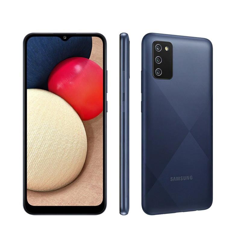 Celular Libre Samsung Galaxy A02S 64Gb Azul
